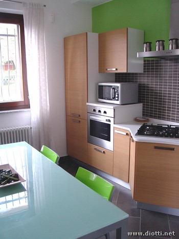 Sfera cucina rovere chiaro Cerro Maggiore 2